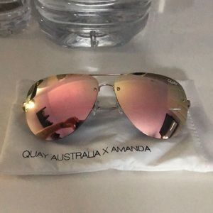 Quay Australia x Amanda sunglasses